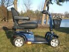 4 wheel Pride Celebrity XL 350 wt capacity Electric Mobility Scooter Viper Blue