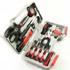 39Pc Home Hand Tool Set Kit Household Mechanics Remover Repair Tools Case Red