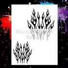 Flames Set 07 Airbrush StencilTemplate