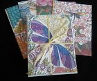 DRAGONFLY themed Blank Note Cards Set of 8