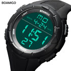 Casual Sports Men Watches LED Digital Display Watch Swimming Military Wristwatch
