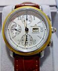 Maurice Lacroix Masterpiece Croneo Mens Watch MP6318  18K Gold/ Stainless Steel
