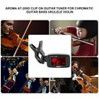 Aroma AT-200D Clip On Guitar Tuner for Chromatic Guitar Bass Ukulele Violin ZW