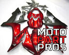 Burgandy Red 2004 - 2006 Yamaha YZF R1 ABS Injection Mold Fairing Kit Cowling