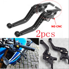 Pair CNC Motorcycle Electric Bike ATV Double Disc Brake Lever Modification Lever