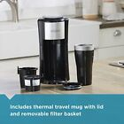 Single Serve Coffeemaker Black CM618
