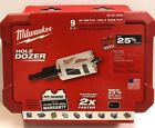 NEW! Milwaukee 9-Piece General-Purpose Hole Dozer Hole Saw Kit