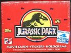 1992 Jurassic Park motion picture movie full box, 36 packs, MIP