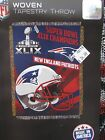 New England Patriots 2014 Super Bowl XLIX Champions Tapestry BLANKET THROW BEST$