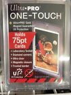 15 ULTRA PRO ONE TOUCH UV MAGNETIC 75pt PT HOLDERS