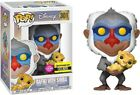 Funko Pop The Lion King Rafiki with Baby Simba Flocked Vinyl Figure EE Exclusive