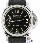 2011 Panerai PAM 111 Luminor Marina Manual Wind Black Rubber 44mm Watch PAM00111