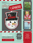 Anita Goodesign Express Padded Christmas Ornaments Embroidery CD (CD ONLY)