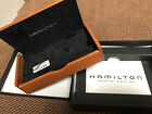 Hamilton Men's Wristwatch Box with manual and inner wooden box Khaki Officers
