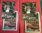 (4) 1993 Scottie Pippen Chicago Bulls Topps Starting Lineup Hoops Cards Sealed