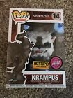 Funko Pop! Holidays Krampus Hot Topic Exclusive Flocked CHASE #14 WITH PROTECTOR