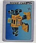 1985 Hasbro Transformers Action Cards Trading Cards 13