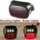 Smoke LED Tail Brake Rear Light Lamp For Harley Davidson CVO Dyna Fat Bob FXDFSE