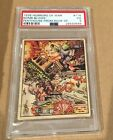 1938 - R69 - HORRORS OF WAR - #114 - PSA 3 VG - BOMB BLOWS PENTHOUSE FROM ROOF