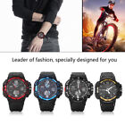 SKMEI Men's Waterproof Sport Army Alarm Date Analog LED Digital Wrist Watch