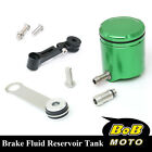 For Kawasaki Ninja 900 ZX-9R 98-05 Green CNC Front Brake Cylinder Fluid Oil Tank
