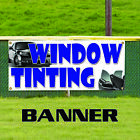 Window Tinting Glass Business Promotional Advertising Vinyl Banner Sign