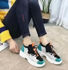 Womens Platform Sneakers Running Travel Sport College Shoes Creepers Chic HOT