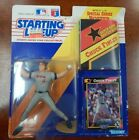 Starting Lineup New 1991 Chuck Finley Figurine, poster, and card