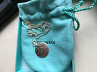 NEW AuthenticTiffany &Co. Sterling Silver Small Notes Round Beed Pendant 18 in