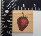 Rubber Stampede Strawberry Rubber Stamp A898C