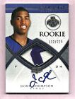 Jason Thompson Kings 2008-09 UD Exquisite Collection Patch Auto Rookie 112 225