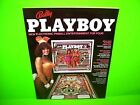 Bally PLAYBOY 1978 Original Foldout Pinball Machine Promo Flyer Brochure RARE
