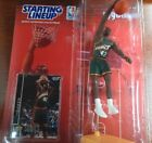 Starting Lineup New 1998 Vin Baker Figurine and basketball card