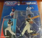 Starting Lineup 1998 MLB Bernie Williams Figurine and Card
