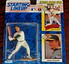 Starting Lineup 1993 Figure and Card Mark McGwire Oakland Athletics MLB