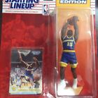 Starting Lineup New 1994 NBA Latrell Sprewell figurine and card
