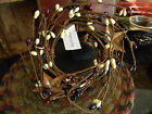 Rusty Stars PATRIOTIC Pip Berry Twig Candle Wreath Primitive Country Home Decor