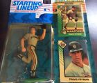 Starting Lineup 1993 MLB Travis Fryman Figure and cards