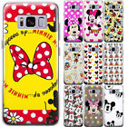 Hot Disney MickeyMinnie Cute Pattern Phone Case Cover For Samsung Galaxy Series