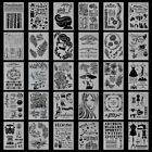 Multi Stencils Wall Painting Templates Craft Embossing Airbrush Craft
