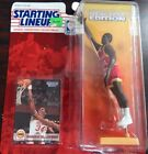 Starting Lineup New 1994 NBA Hakeem Olajuwon figurine and card