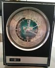Vtg Faux Wood Howard Miller Quartz World Time Clock Model #622-340 WORKS!