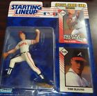 Starting Lineup 1993 MLB Tom Glavine Figure and cards
