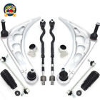 Control Arm Ball Joint Bushing Tie Rod Boot Suspension Kit for BMW E46 3 Series