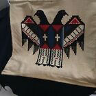 Thunderbird wall hanging, hand made In Oklahoma 1934