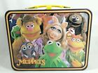 Vintage Jim Hensons THE MUPPETS Fozzie Bear Metal Lunch Box w No Thermos 1979