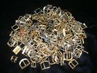 276 gram Lot Of Vintage Watch Buckles & Buckle Parts Many Sizes & Kinds