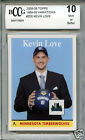 KEVIN LOVE Cavaliers 2008 Topps 1958-59 variation rookie BGS BCCG 10 MINT !!