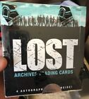 LOST ARCHIVES FACTORY SEALED TRADING CARDS BOX 4 AUTOGRAPHS INSIDE RITTENHOUSE