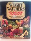 Weight Watchers 365 Day Menu Cookbook by Jean Nidetch 1981 Hardcover